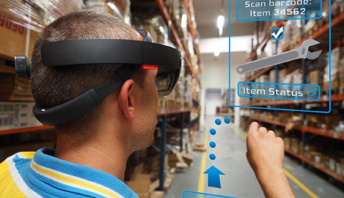 Virtual Reality w magazynie