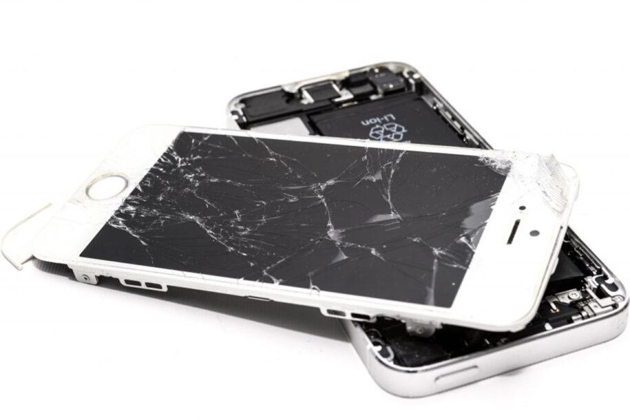 Zepsuty telefon - serwis