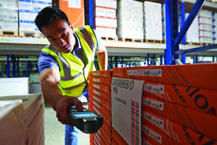 Skanowanie etykiet terminalem mobilnym